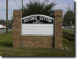 Historic Guyton Sign